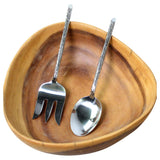 Haussmann® Stainless Steel Bark 2 Pc Serving Set