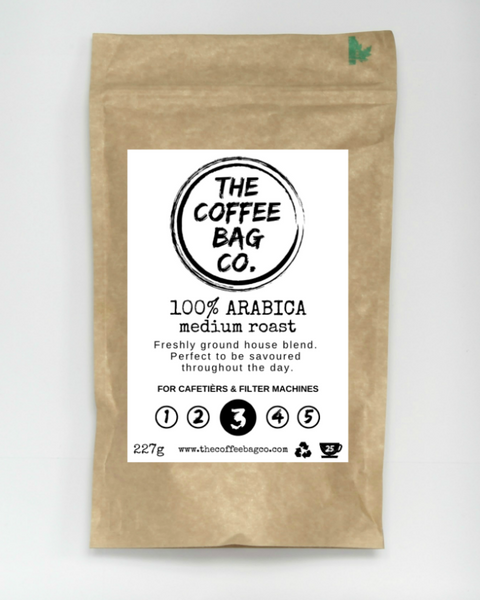100% Arabica Medium Roast