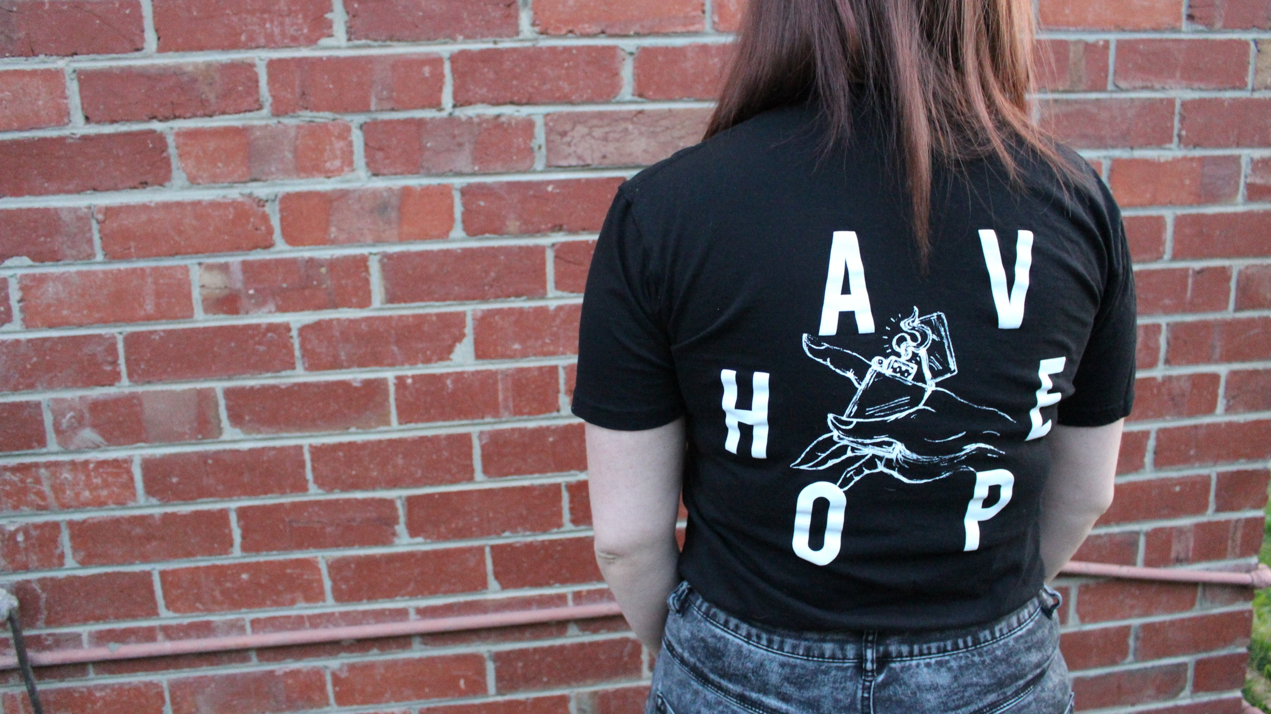 Have Hope Tee (Black) - Brain Drain Co, Shirts