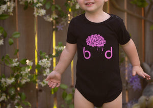 Pink Baby Onesie - Brain Drain Co, Kids