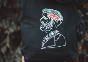 'Jerry' Tote Bag - Brain Drain Co, Tote Bag