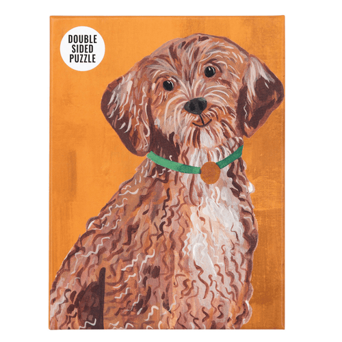 Double Sided Cockapoo Pooch Jigsaw Puzzle 100 Pieces