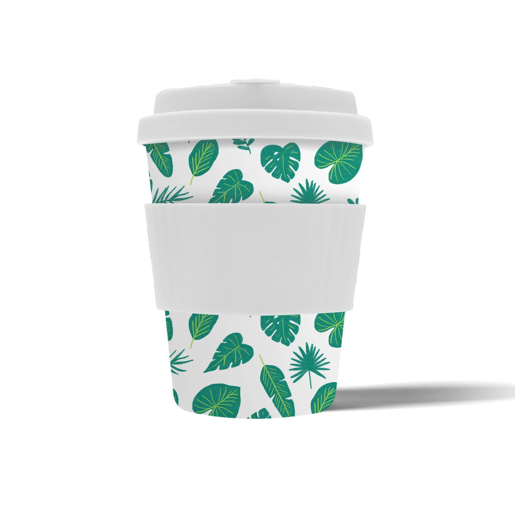Tropical Leaves Travel Cup 350ml