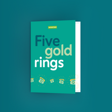 Load image into Gallery viewer, Fund Five Calls for Help – Five Gold Rings Gift Card