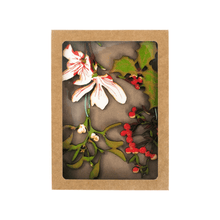 Load image into Gallery viewer, Hand Screen Printed Foliage Decorations
