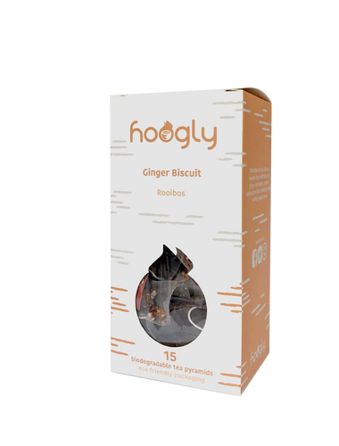 Ginger Biscuit Luxury Rooibos Tea by Hoogly