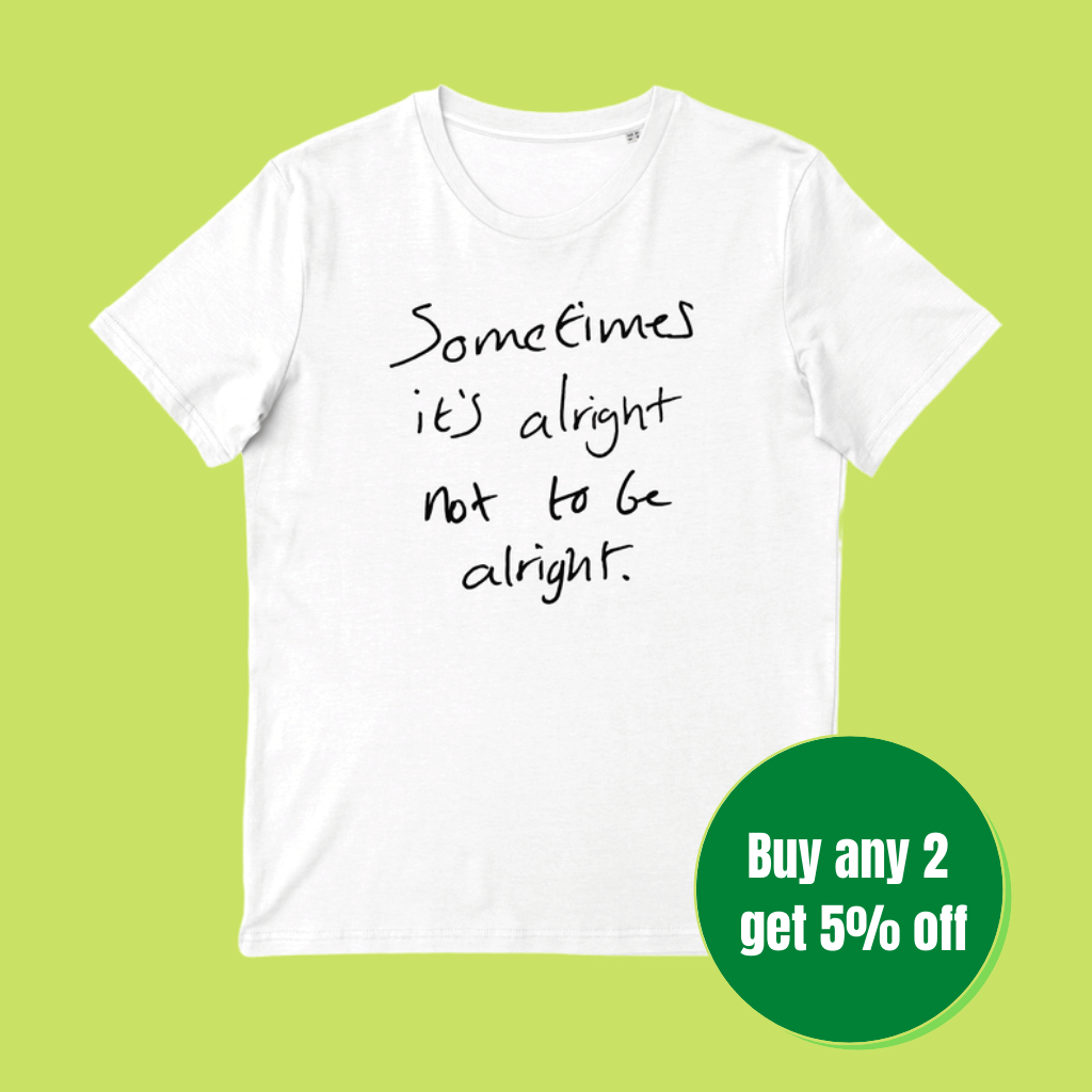 Iconic Slogan T-shirt (100% Organic cotton)