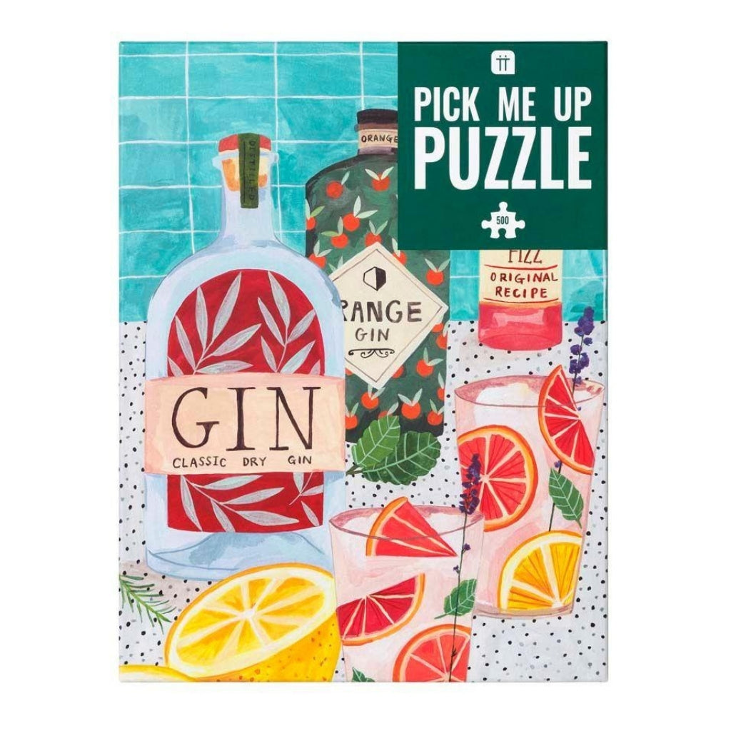 Pick Me Up Jigsaw Puzzle Gin 500 pieces