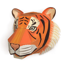 Load image into Gallery viewer, Make Your Own Majestic Tiger Head Kit