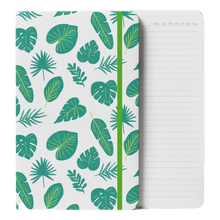 Load image into Gallery viewer, Tropical Leaves Notebook