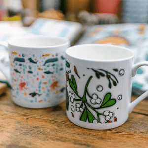 Under The Sea Large Bone China Mug 330ml