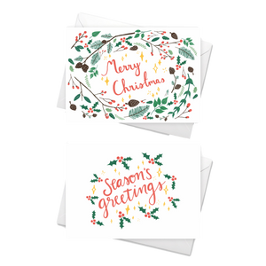 Samaritans Christmas Cards, pack of 8