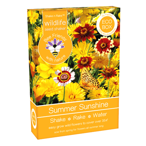 Bee Friends Eco Summer Sunshine Seeds Shaker