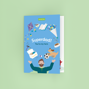 'Superdad' Card