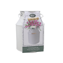 Load image into Gallery viewer, BEES® Sweet Pea Milk Churn Planter