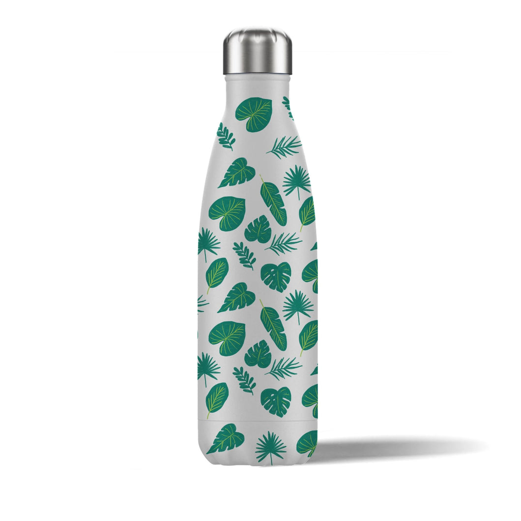 Tropical Leaves Insulated Water Bottle 500ml