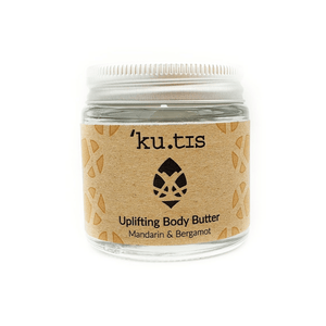 Uplifting Organic Body Butter Mandarin and Bergamot