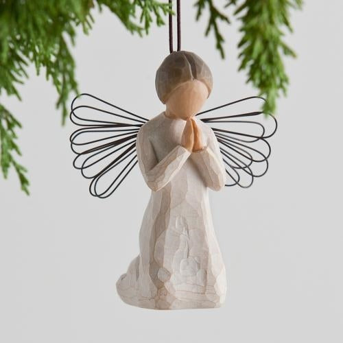 Angel of Prayer Willow Tree® Ornaments Sculpted by Susan Lordi