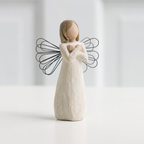 Sign for Love Willow Tree® Angel Sculpted by Susan Lordi