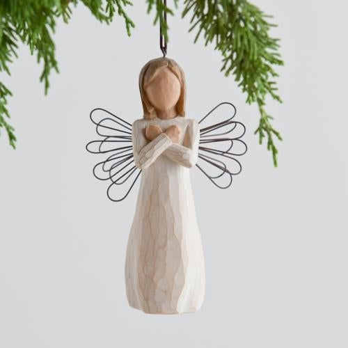 Sign for Love Willow Tree® Ornaments Sculpted by Susan Lordi