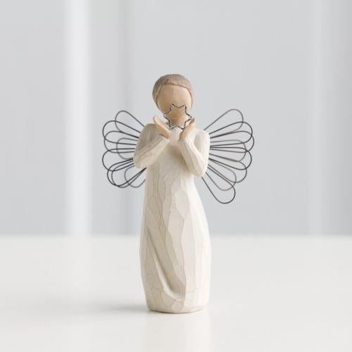 Bright Star Willow Tree® Angel Sculpted by Susan Lordi