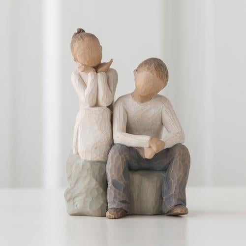 Brother and Sister Willow Tree® Figure Sculpted by Susan Lordi