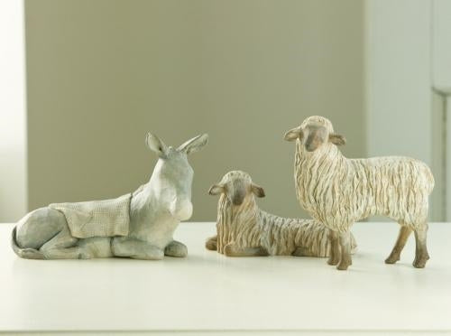 Gentle Animals of the Stable Willow Tree® Nativity - Large Scale