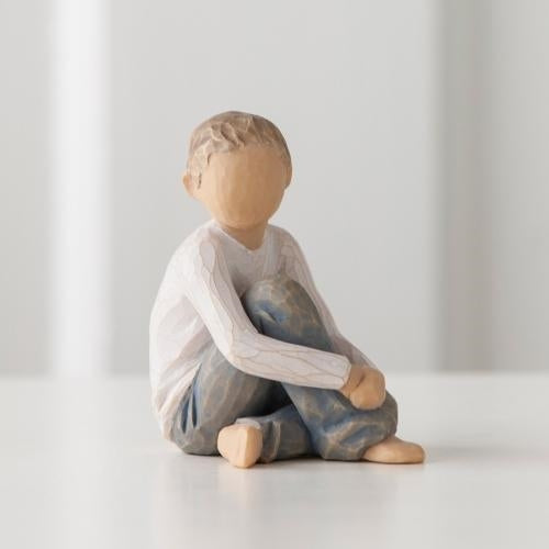 Caring Child Willow Tree® Figure Sculpted by Susan Lordi