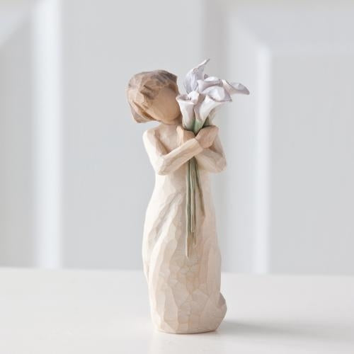 Beautiful Wishes Willow Tree® Figure Sculpted by Susan Lordi