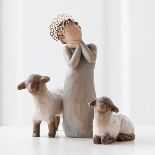Little Shepherdess Willow Tree® Nativity Sculpted by Susan Lordi