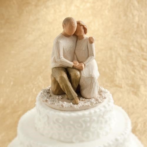 Anniversary Willow Tree® Cake Topper Sculpted by Susan Lordi