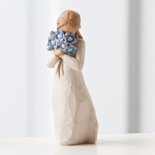 Forget-me-not Willow Tree® Figure Sculpted by Susan Lordi