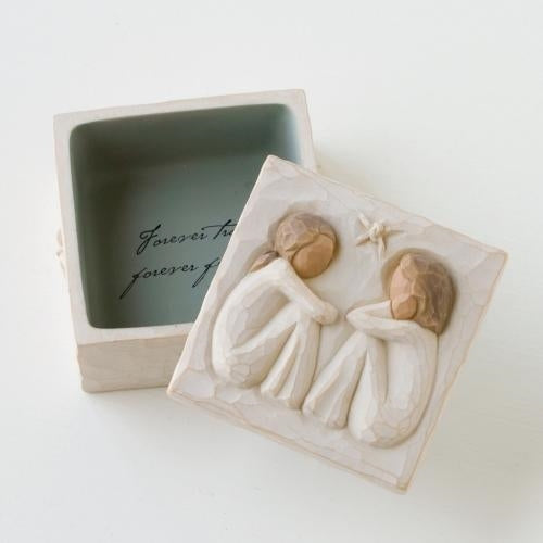 Friendship Keepsake Willow Tree® Box Sculpted by Susan Lordi