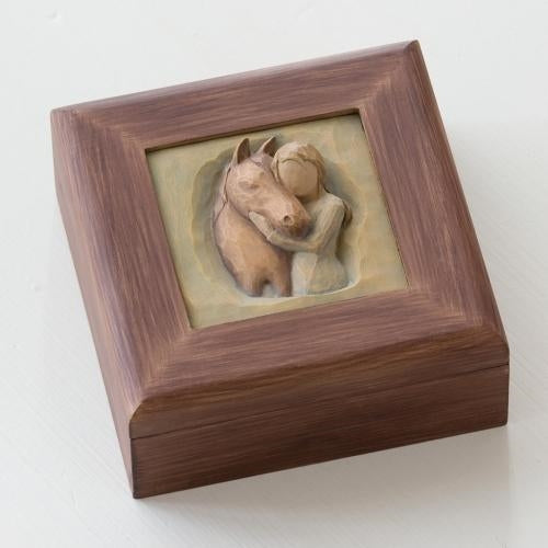 Quiet Strength Memory Willow Tree® Box Sculpted by Susan Lordi