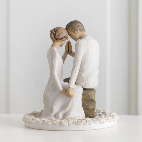 Around You Willow Tree® Cake Topper Sculpted by Susan Lordi