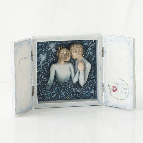 Duet Triptych Willow Tree® Box Sculpted by Susan Lordi