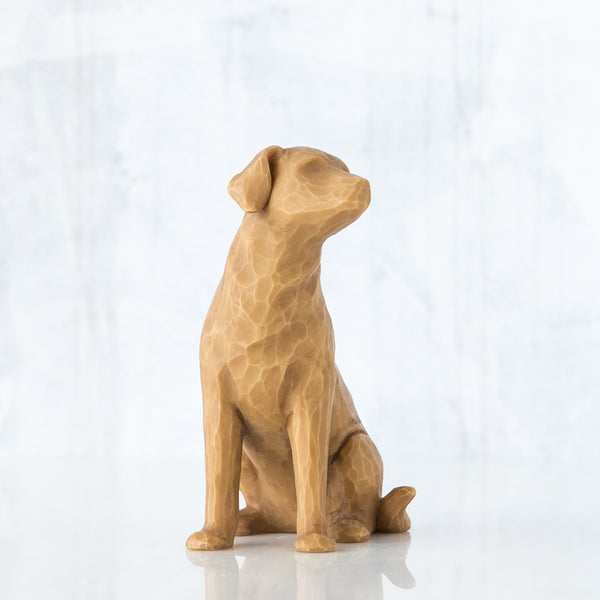 Love my Dog (light) Willow Tree® Figure Sculpted by Susan Lordi