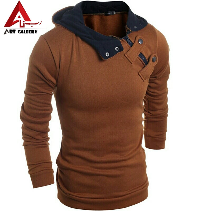 2018 Hot new fashion men Slim casual men's sweater Sweater jacket winter coat sweater 4 colors