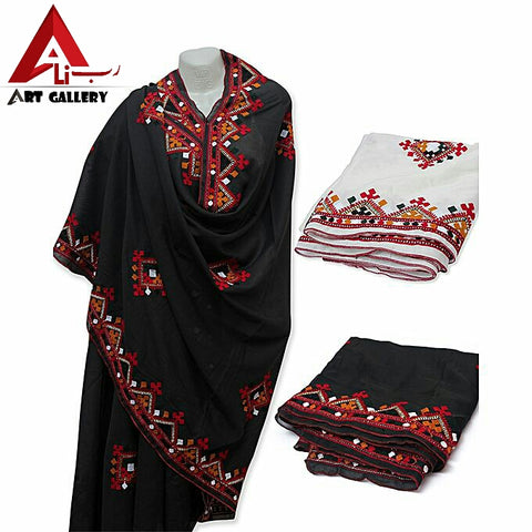 Sindhi Embroidered Shawl