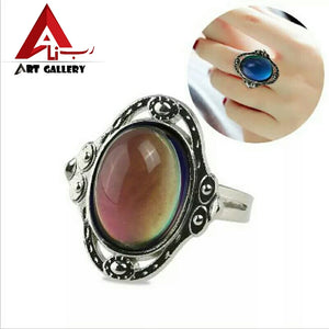 Mood Stone Ring color changing stone