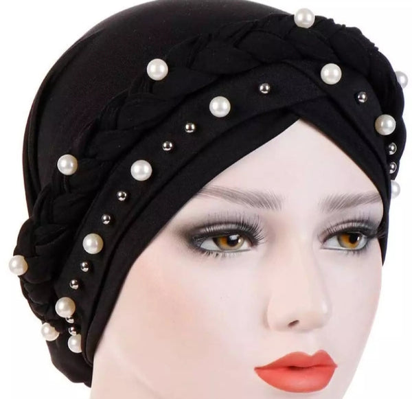3 piece of Muslim Hijab cap with new stuff