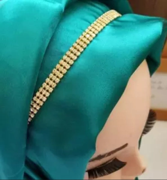 6 piece of Hijab band Scarf accessories