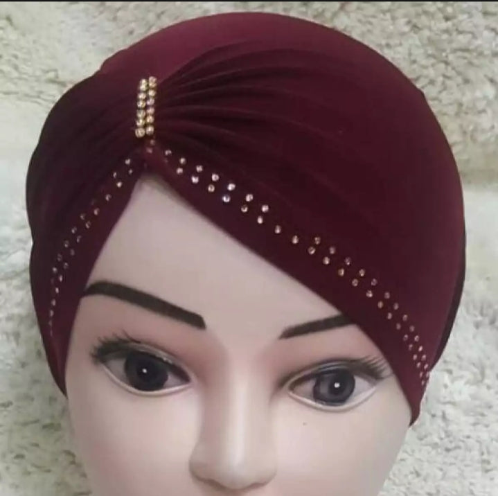 3 piece of Side party Hijab Cap ( New Arrival )