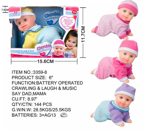 BNG crawling baby toys for Kids.