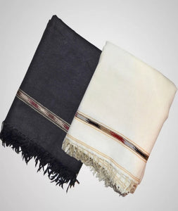 1 Piece of Pashmino Wool Shawl & Kashmiri Dhussa Shawl.