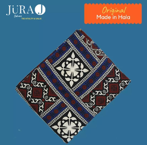 Sindhi Ajrak Pure Cotton.