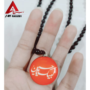 3 pieces Labbaik ya Hussain slwt Locket 3D pendant