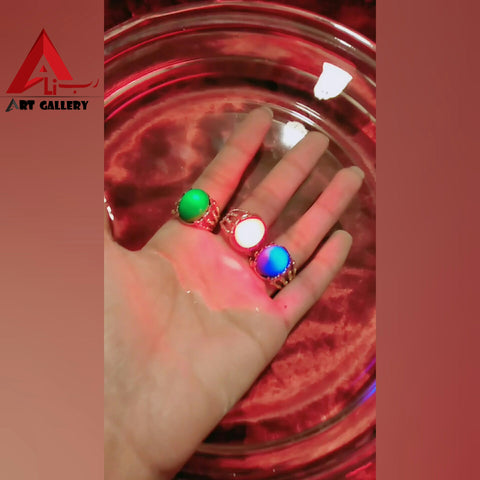 Batu Marjan Glowing Gem Stone