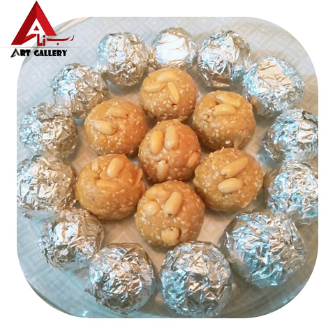 Sweet Rice Peanuts & Coconut Balls 500g