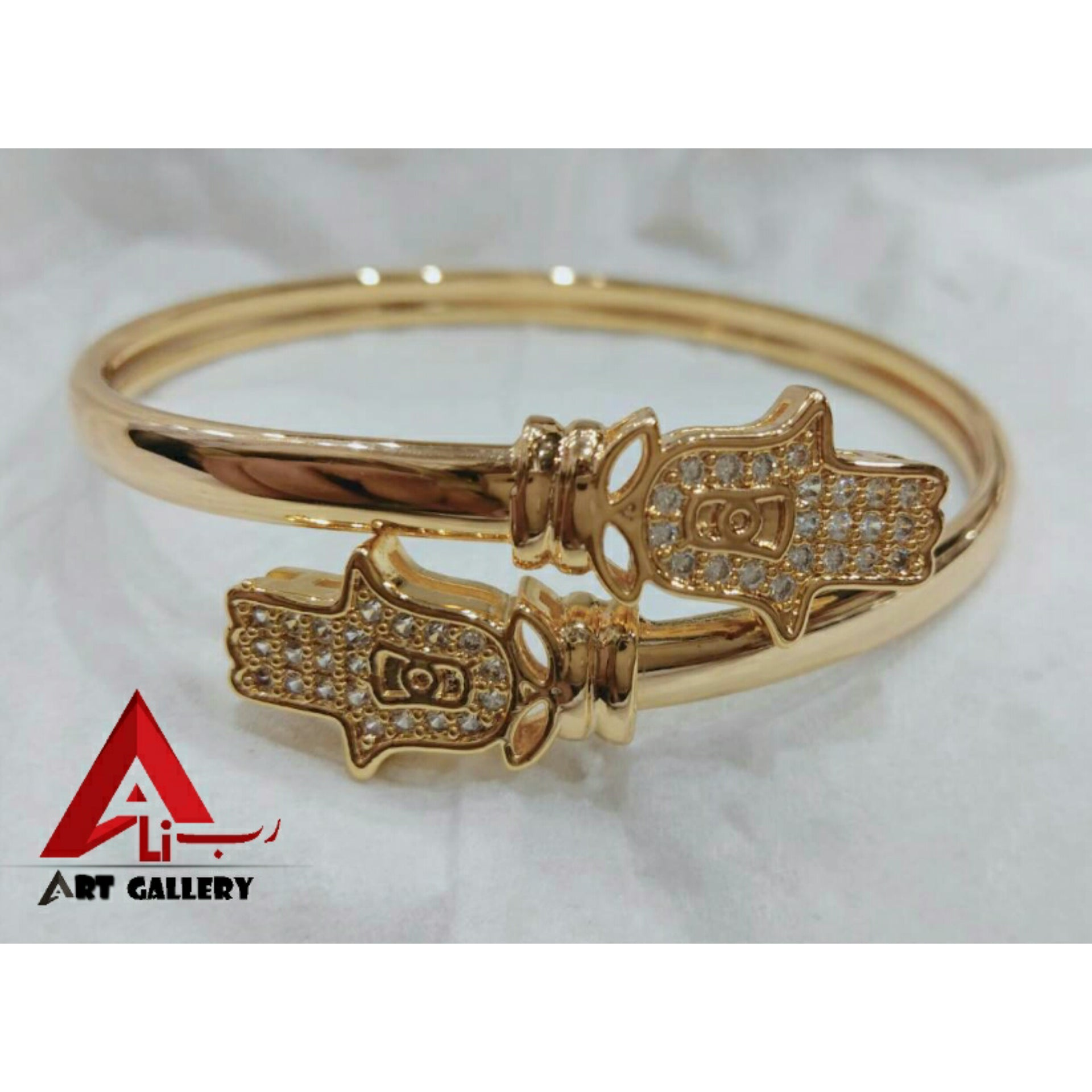 Lucky Khamsa Bangle For Female 2 pieces